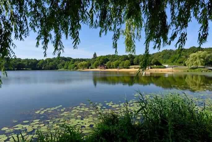 Vue sur le lac Val Joyeux