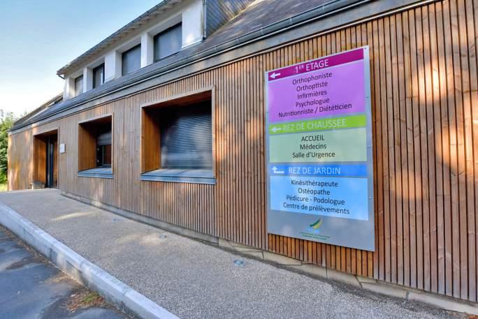 Entrée de la maison de santé de Château-la-Vallière